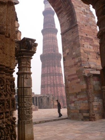 Qutb Minar site of first Mosque in India - New Delhi - World Heritage site