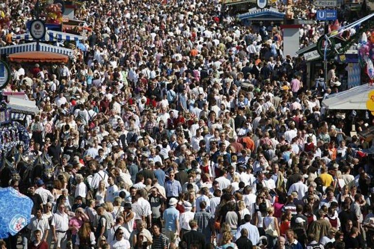 Oktoberfest visitors