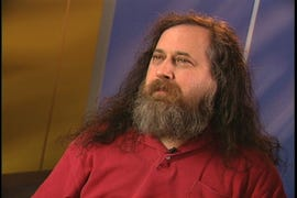 Richard M. Stallman, free software's founder, falls ill at tech. conference.