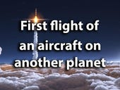 Ingenuity: First flight of an aircraft on another planet