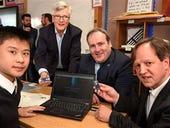 Scottish school claims world first for using light-based Li-Fi networking