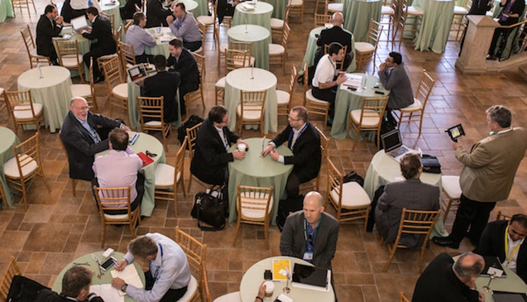 Networking at last year's Intel Global Capital Summit in San Diego.