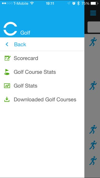 Available golf stats