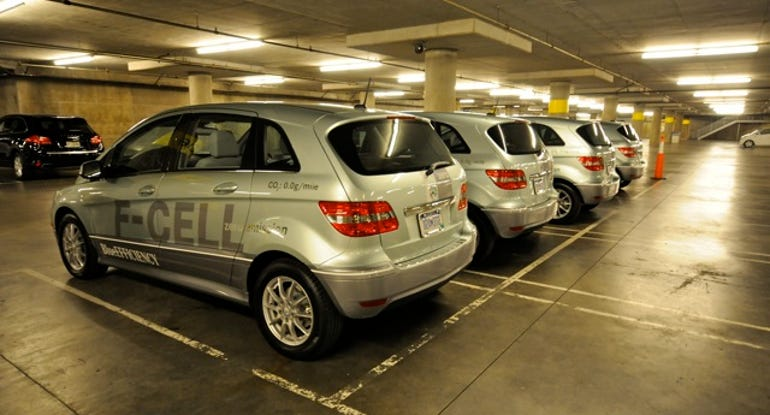 Mercedes_F-cell_fleet