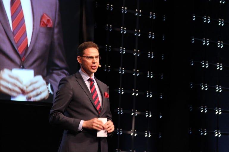 Finnish PM, Jyrki Katainen