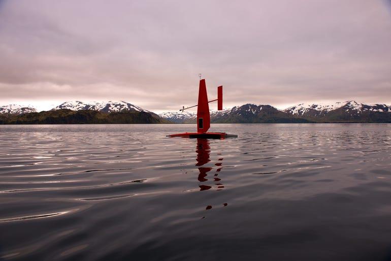 Saildrone in Alaska