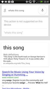 Google adds travel functions and song identification to Google Now