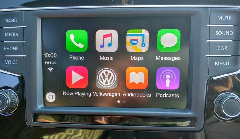 Apple CarPlay home screen