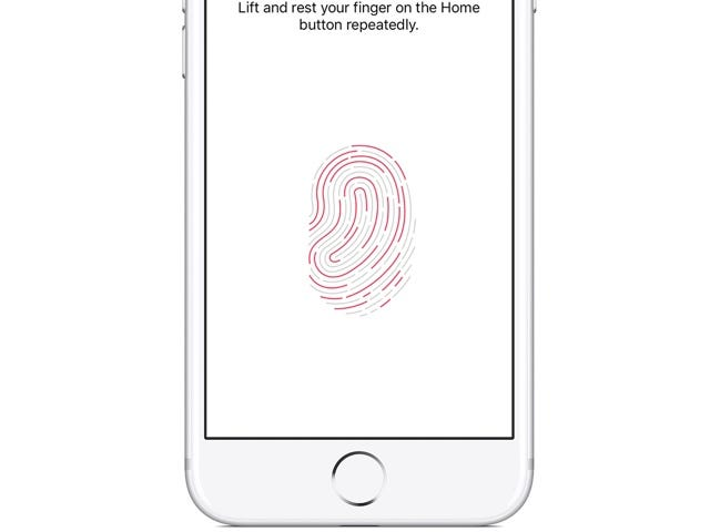 Move Touch ID to the back