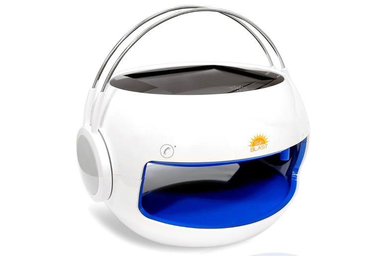 Pyle sunblast solar power water resistant Bluetooth speaker
