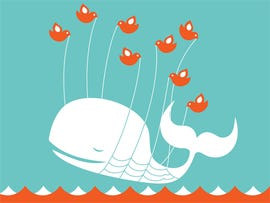 For over an hour, Twitter was down without even a fail whale to warn us.