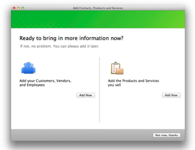 QuickBooks 2013 for Mac - import contacts from Address Book and add items from spreadsheets