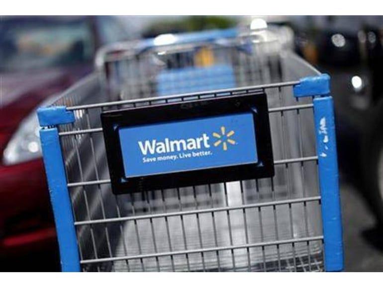 Wal-Mart Robotic Shopping Cart