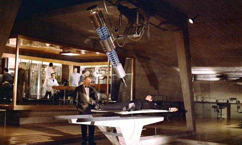 Industrial Laser, Goldfinger (1964)