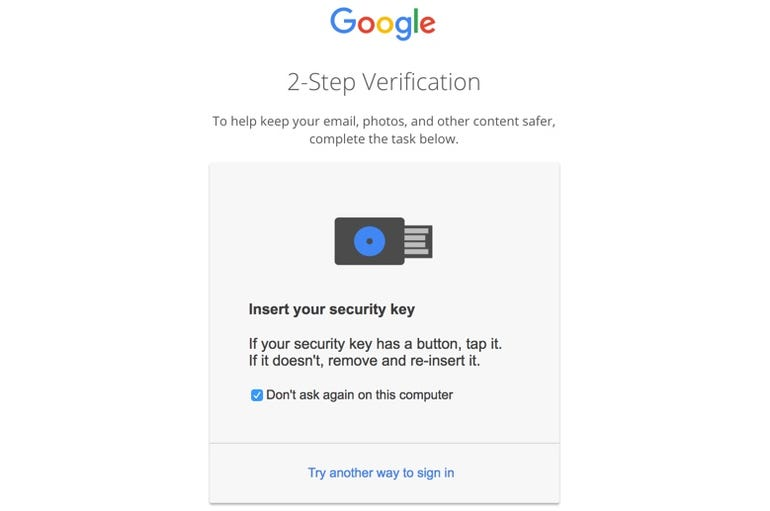 Authenticating with Google