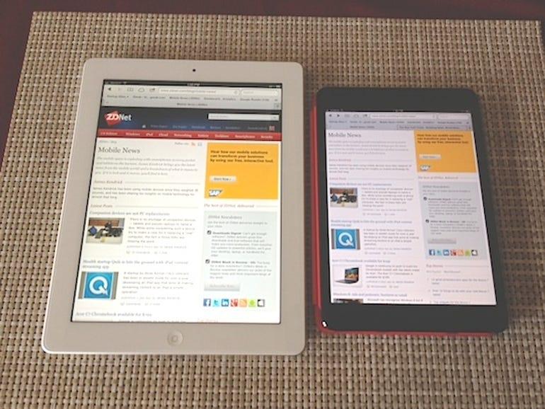 iPad and mini