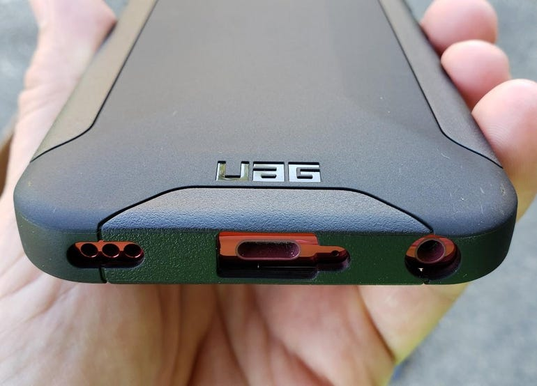 Bottom and back of the UAG Scout