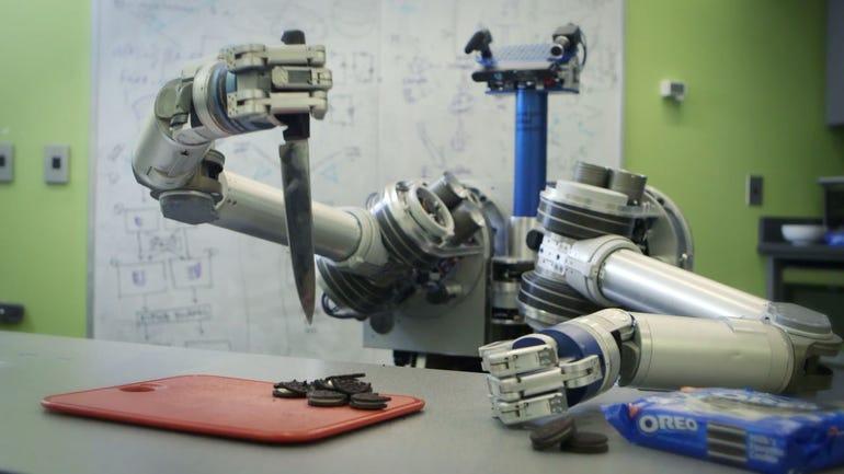 HERB robot exhibits creativity
