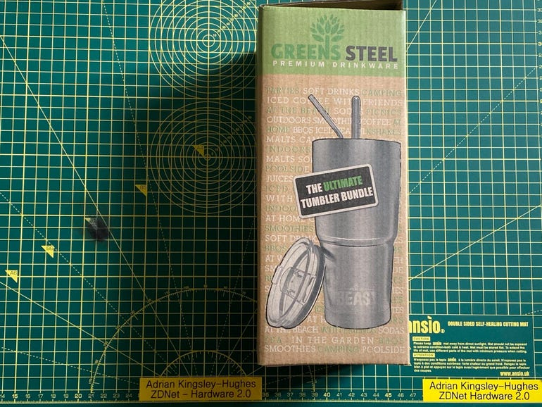 Green Steel Beast 30oz