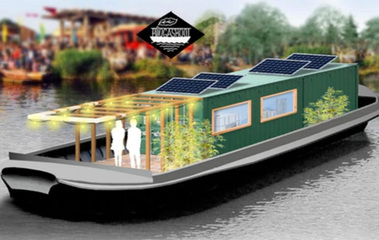 The Biogas Boat