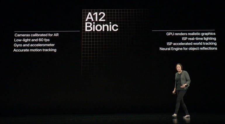 A12 Bionic Neural Engine photo enhancements