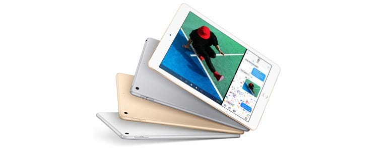 New 9.7-inch iPad starting at $329.