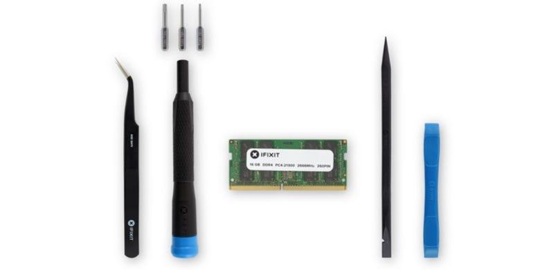 The iFixit Mac Mini Late 2018 Memory Maxxer RAM Upgrade Kit
