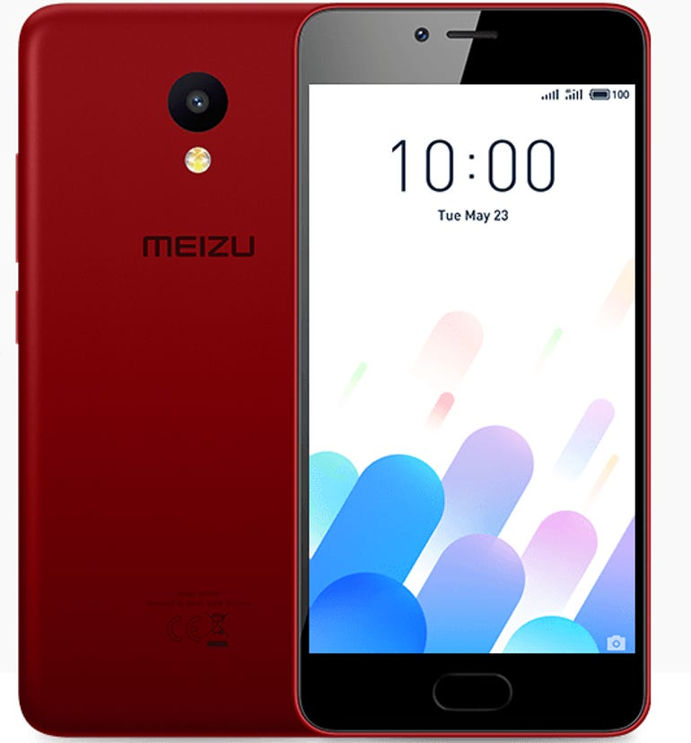 Hands on with the Meizu M5c A low cost phone with great performance ZDNet