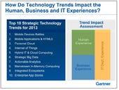 Mobile, actionable data dominates Gartner's 2013 tech trends