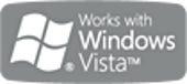 Works with Windows Vista