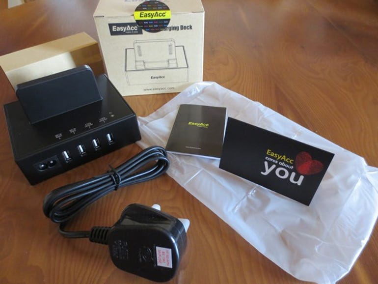 Review of EasyAcc USB Charging dock ZDNet
