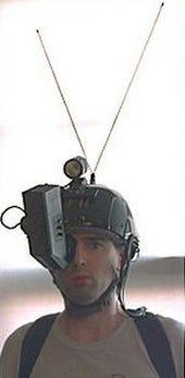 Wearable computer Steve Mann circa 1980