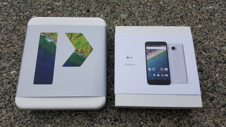 Nexus 6P and 5X retail packages