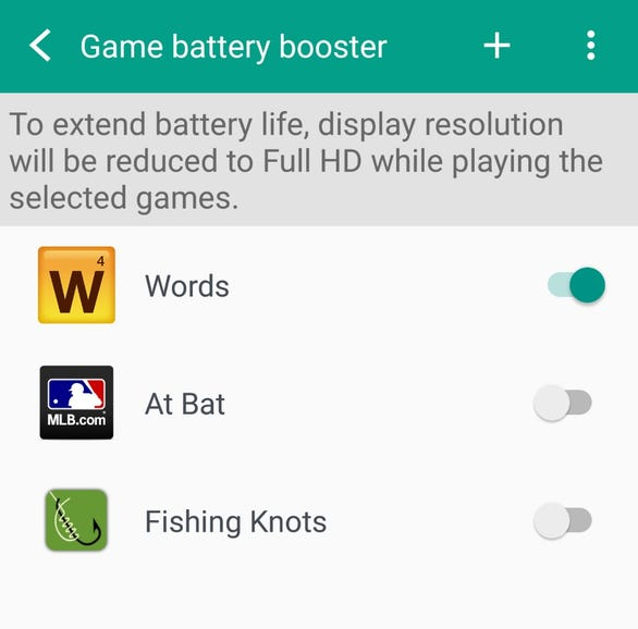Use Boost+ to alter game settings