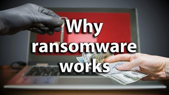 Why ransomware works: Too many organizations pay up