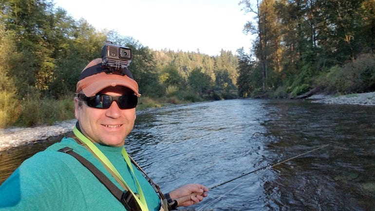 Using the VIRB Ultra 30 while fly fishing