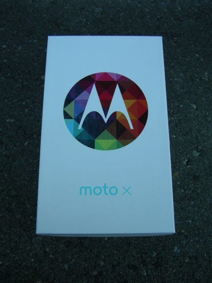 Moto X retail package