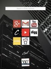 Opera's Coast browser screenshot