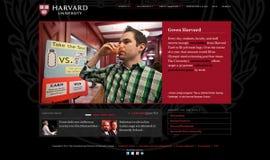 Harvard.edu Home Page