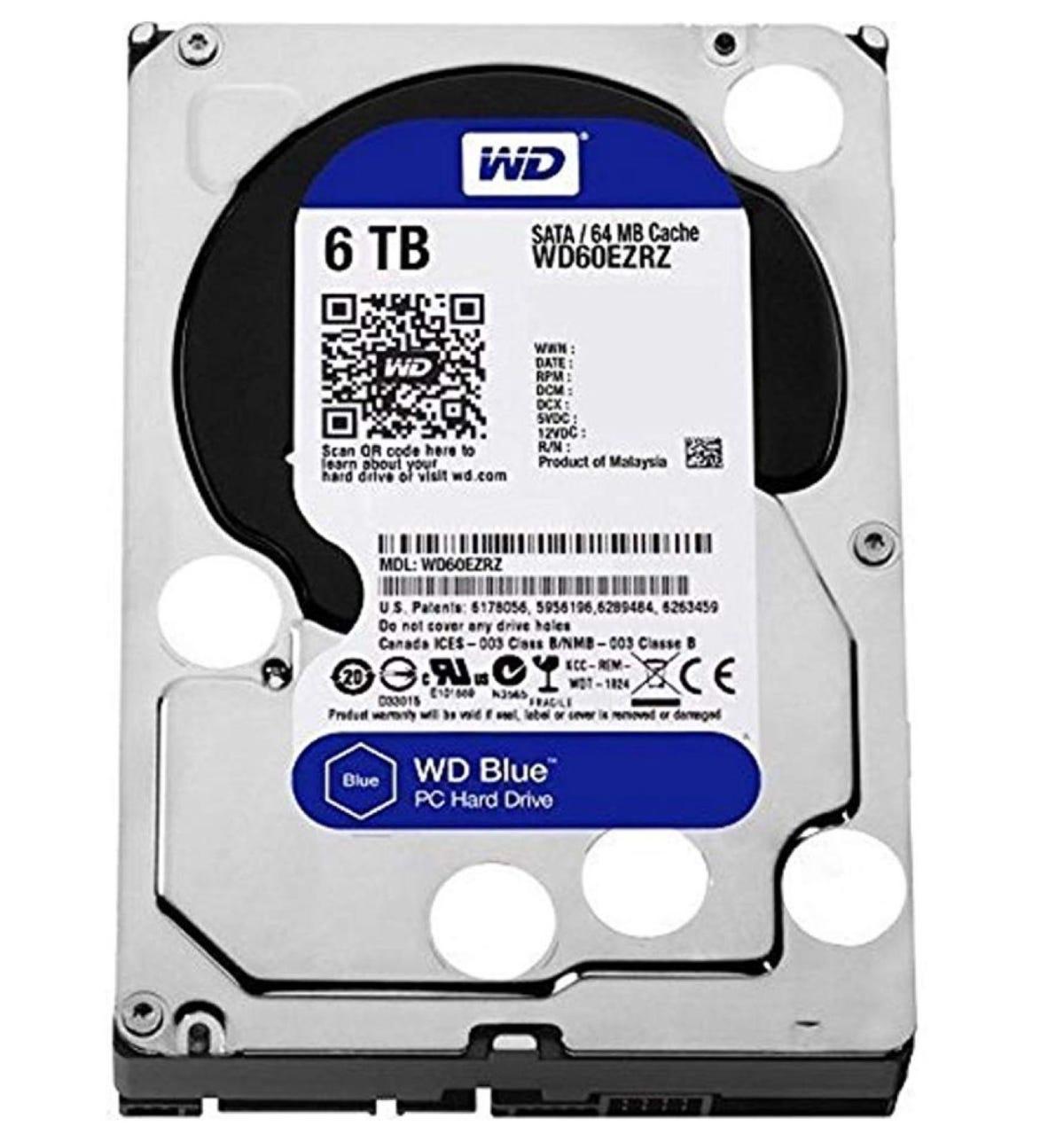 WD Blue 6TB PC Hard Drive
