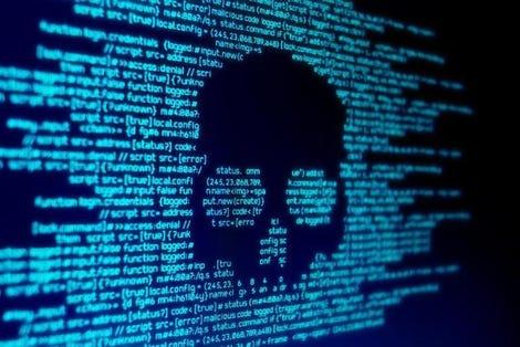 Computer Malware Attack