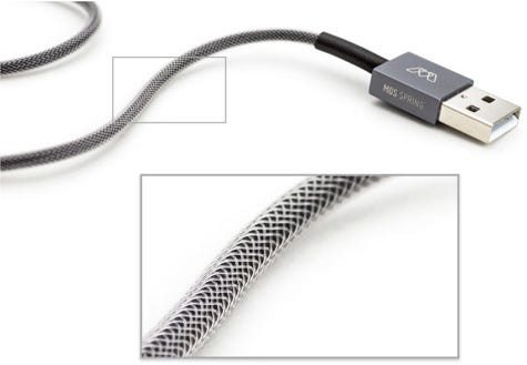 MOS Spring Lightning cable