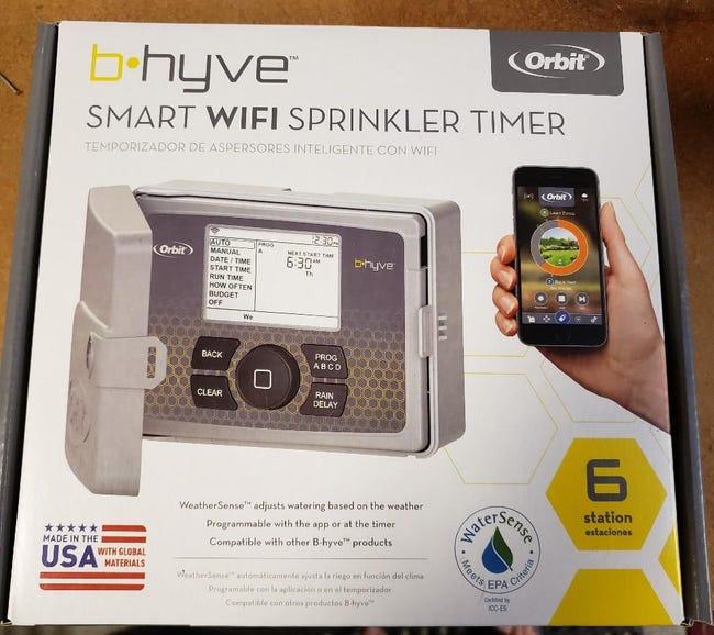 Orbit B-hyve retail package