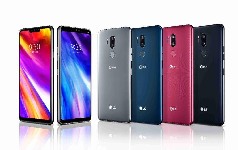 LG G7 ThinQ lineup