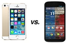 Apple iPhone 5S vs. Motorola Moto X: How they compare
