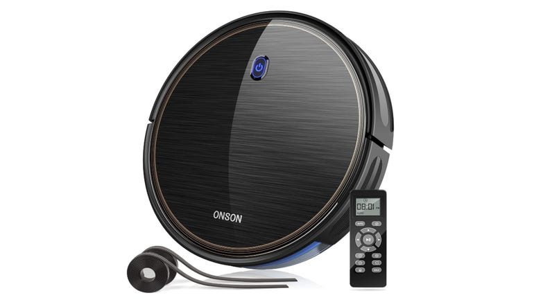 Hands on with the Onson J10C robot vacuum a tenacious robot vacuum that cleans on and on zdnet