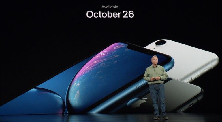 iPhone XR availability