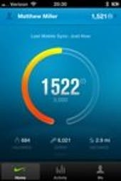 Image Gallery: iPhone Fuelband app