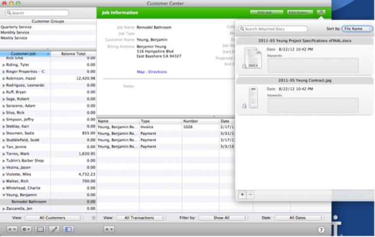 QuickBooks 2013 for Mac now supports file attachments