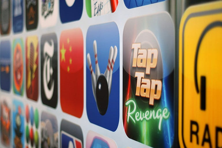 Smartphone apps: Downloads totalled nearly eight billion in 2010